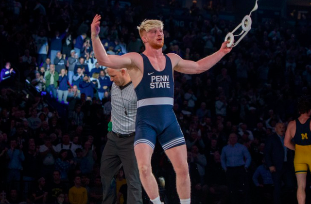 Penn State Wrestling: Bo Nickal Named Big Ten Male Athlete Of The Year